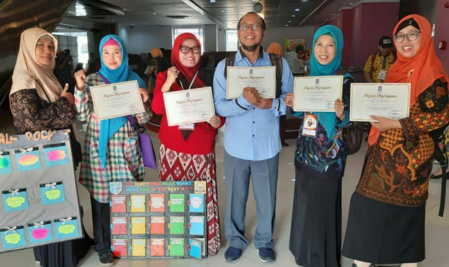 Antusiasme SMP Negeri 10 Dalam  Rangka Apresiasi Guru Dinas Pendidikan Kota Surabaya
