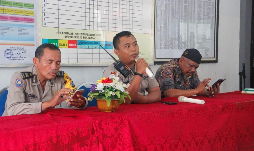 Polsek  Tegalsari Sosialisasikan Aplikasi JOGO SUROBOYO 2407