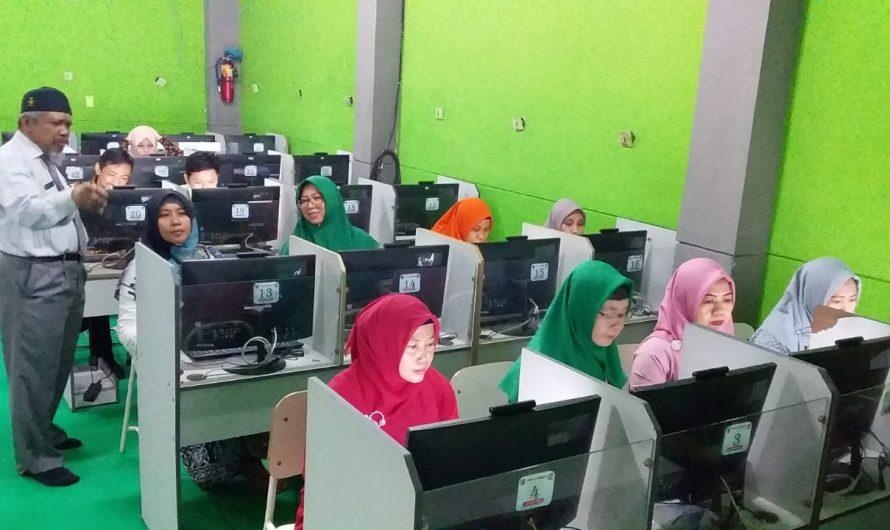 SMP Negeri 10 Surabaya Laksanakan Simulasi Asesmen Kompetensi Minimum (AKM) Pengganti UN 2021