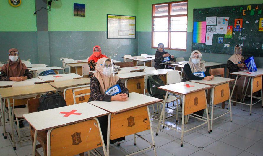 SMP Negeri 10 Surabaya Laksanakan Simulasi Belajar Tatap Muka*