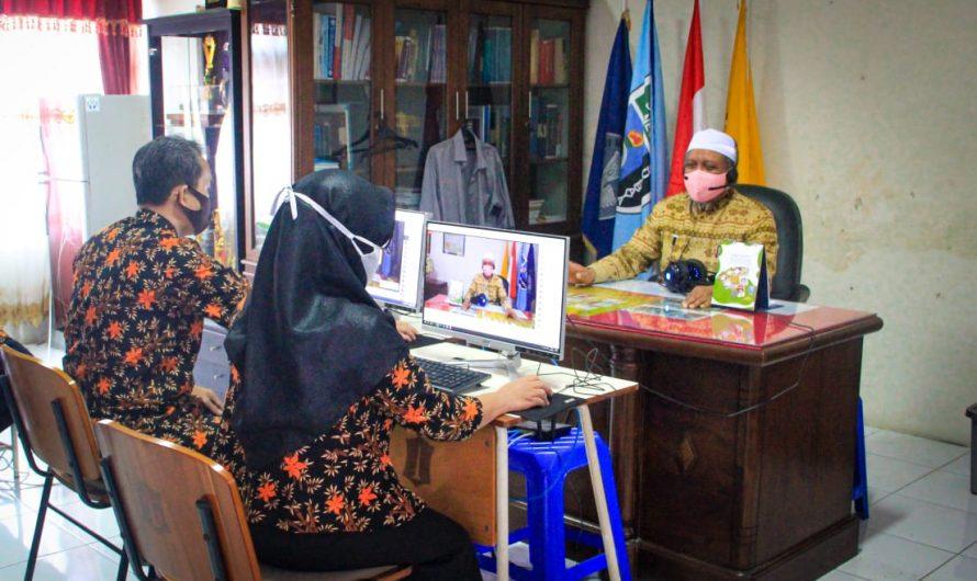 Persiapan Masuk Sekolah, SMP Negeri 10 Surabaya Gelar Pertemuan Virtual dengan Wali Murid