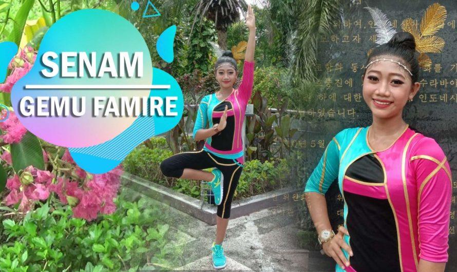 Lomba Liburan Sekolah Dispendik, Nadhiska Raih Juara 1 Senam Gemu Fa Mi Re