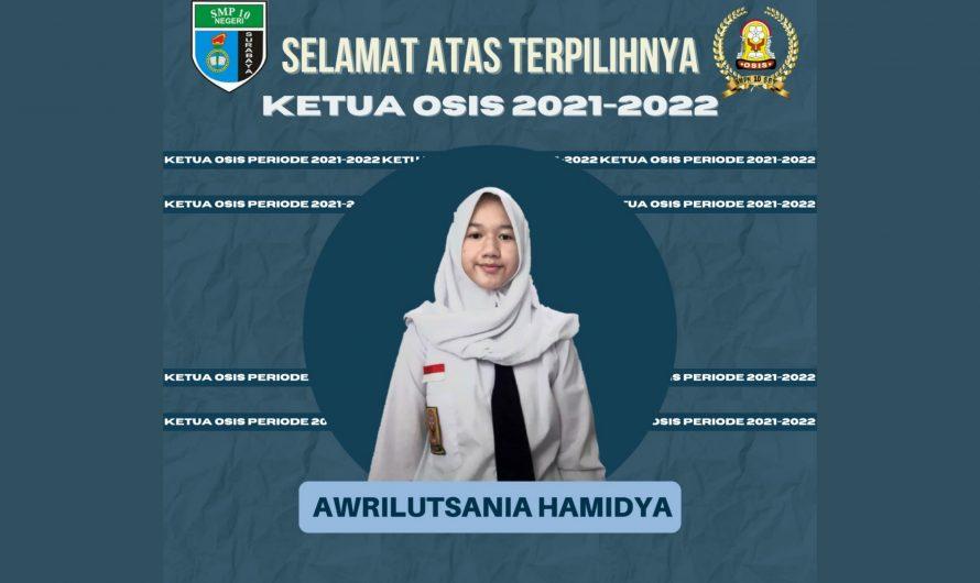 Awrilutsania Hamidya Terpilih Menjadi Ketua OSIS SMPN 10 Surabaya 2021 Melalui Online Vote